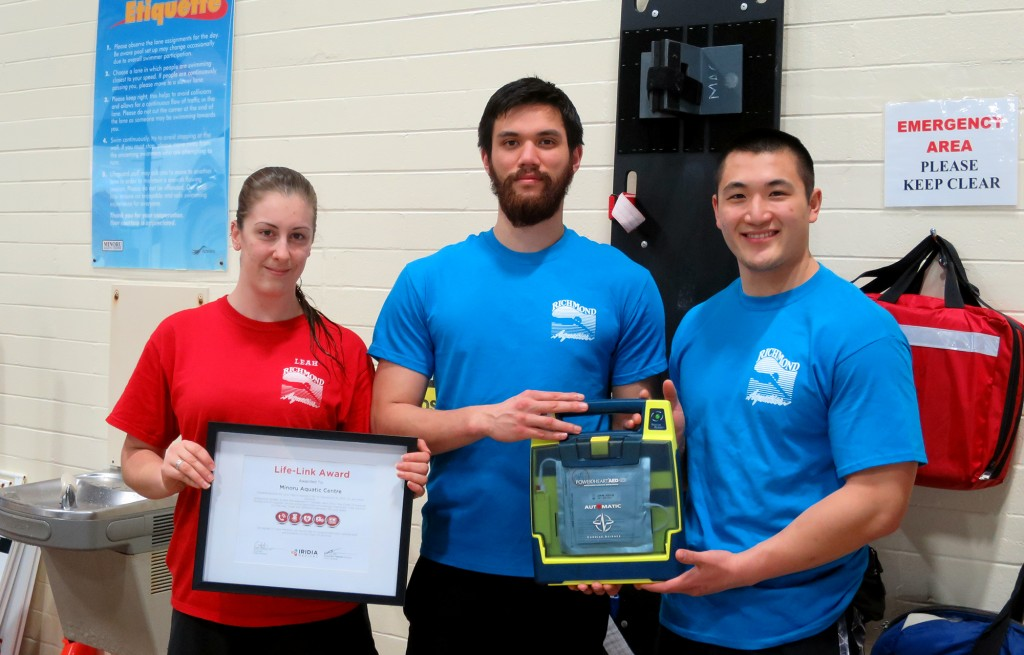 Minoru Aquatic Centre - AEDs in Canada