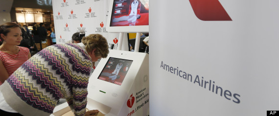 American Heart Association's CPR Kiosk