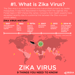 What is Zika Virus Infographic