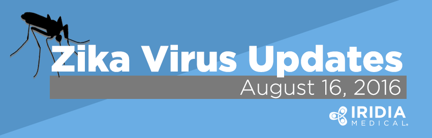 Zika Virus Updates - August 16, 2016